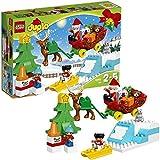 LEGO - 10837 - LEGO DUPLO Ma Ville - Jeu de Construction - Les Vacances d'Hiver du Père Noël...