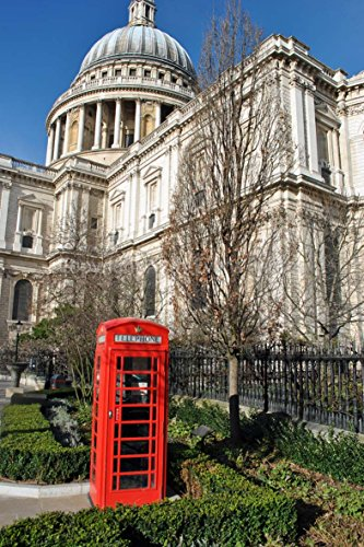 photograph-a-12x18-photographic-print-of-st-pauls-cathderal-and-a-red-telephone-box-london-england-u