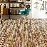 J 3D Holz Aufkleber Selbstklebende Bodenbelag Aufkleber Simulation Holz Boden Aufkleber Küche Schlafzimmer Wohnzimmer Boden pvc Aufkleber 20CM * 5M , 5