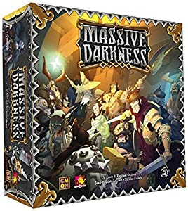 Asmodee Italia 10100-Massive Darkness Edición Italiana
