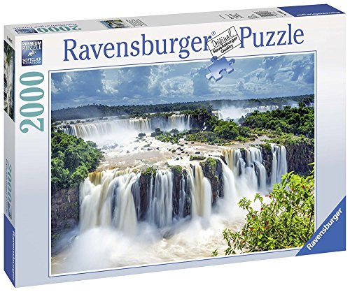 Ravensburger Italy- Puzzle Cascata dell'Iguazù Brasile, 16607