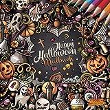 Happy Halloween: Malbuch zum Entspannen von BOSS Malbücher