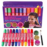 Best Toys For A 10 Year Old Girls - GirlZone GIFTS FOR GIRLS: Hair Chalk & Glitter Review