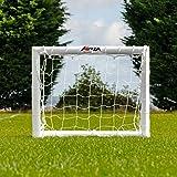 FORZA - wetterfestes Fußballtor 2,4 x 1,8 m [Net World Sports]
