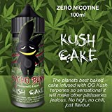 Kush Cake (100ml) Plus e Liquid by Psycho Bunny Nikotinfrei