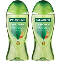 Palmolive Body Wash Aroma Morning Tonic, 250ml (Pack of 2), Shower Gel with 100% Natural Tangerine Essential Oil…