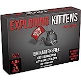 Asmodee ASMD0008 Exploding Kittens - NSFW Edition, Grundspiel, Partyspiel, Kartenspiel, Deutsch