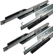 Hettich 924322900 Quadro V6 Silent 300 mm Drawer Runner 2 Sets (Silver, 30Kg)