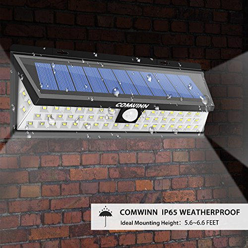 SuperDiscount Comwinn 54 LED Outdoor Security Garden Solar