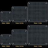 Silicone Stretch Lids , IHUIXINHE Set di 6 Coperchi di Risparmio Energetico in Silicone - BPA Gratis, Lavastoviglie, Forno a Microonde, Forno e Congelatore Sicuro