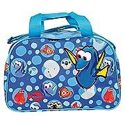Borsa sport Disney Finding Dory - Borsone sportivo bambino per palestra viaggio e tempo libero - Perletti - Dimensioni 24x38x18 cm