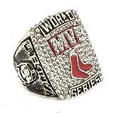 Budazo 2013 Silber Rot Sox MVP Herren Meisterschaft Ringe,Größe 59(18.8)