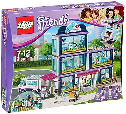 LEGO UK 41318 Heart lake Hospital Construction