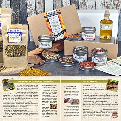 61J99psI77L - direct&friendly Bio Grill Gewürz Superfood Set Geschenke für Männer