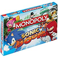 Winning Moves Sonic Boom Monopoly Board Game