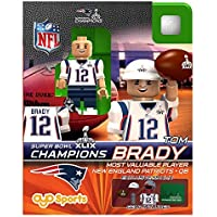 Tom Brady OYO NFL New England Patriots MVP G2 Series 7 Super Bowl XLIX Champions Mini Figure Limited Edition by