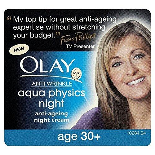 Olay Anti vieillissement crème de nuit anti rides Aqua Physique (50ml) - Paquet de 6
