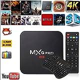 Jiayuane TV Box, (EU Plug) Android 6.0 RK3229 1G + 8G Quad Core Réseau WiFi 4K TV Box + I8 Clavier Pour MXQ Pro
