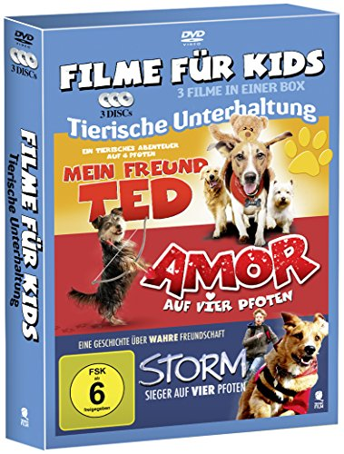3 Movie Kids Collection - Tierische Unterhaltung (3-Disc Set)