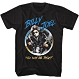 American Classics Billy Joel Music You May Be Right Adult Short Sleeve T Shirt L Black