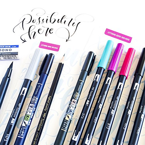 "Tombow Lettering Set ""Advanced"""