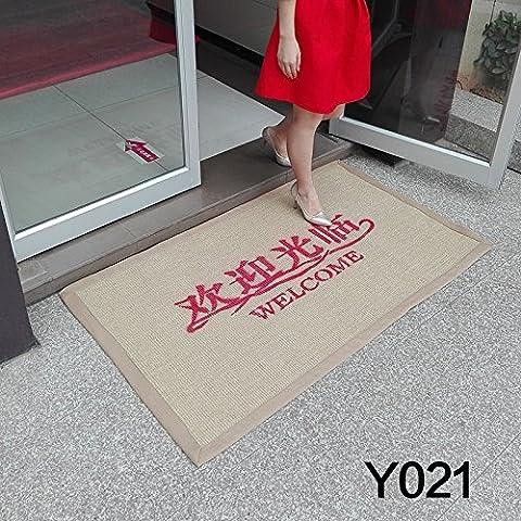 FQG* manifestano che il piede-pubblicità Fußmatte reibt contro il terrore in ascensore, apre negozi imprese Eingangsmatten, 60cm x 90cm e021, PERLATO SVEVO