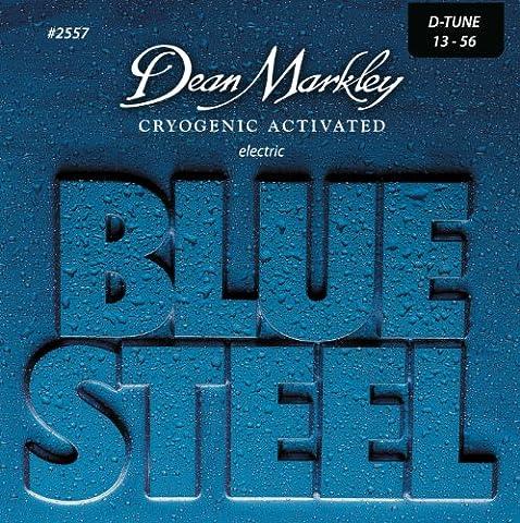 DEAN MARKLEY 311340 2557 DT 13-56 Steel Electic Gitarre Zubehör blau