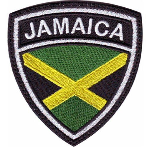 MAREL Patch Flag Bandera JAMAICA Jamaica parche termoadhesivo