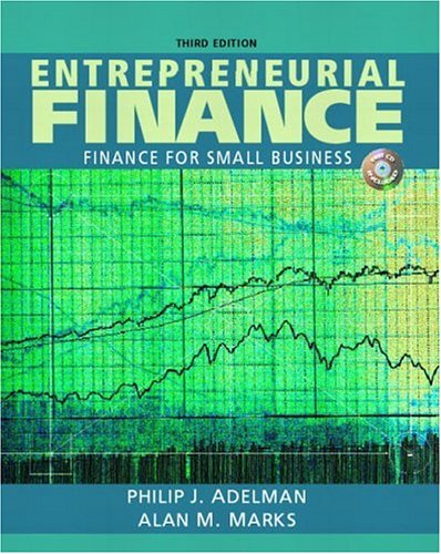 Entrepreneurial Finance - Finance for Small Business PDF Books