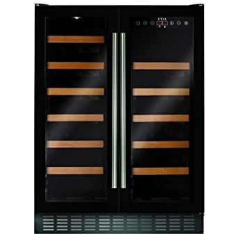 CDA FWC623BL 60cm Freestanding/Under Counter Wine Cooler: Amazon.co.uk:  Kitchen U0026 Home