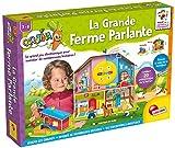 Lisciani- Jeux EDUCATIFS - LA Grande Ferme PARLANTE - FR68340, Bleu, Vert, Jaune, Rouge