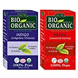 #7: 100% Organic Henna and Indigo Powder Pack of 2 - 200gm