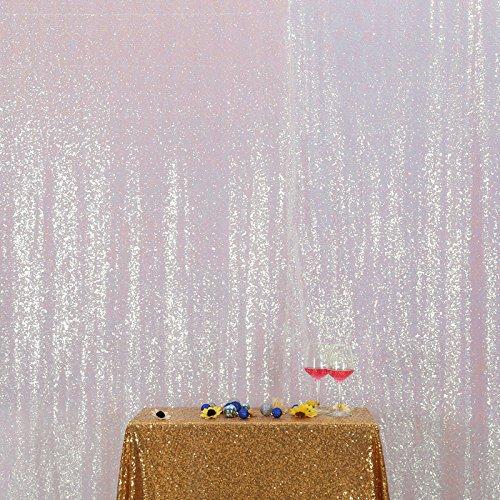 illetten Hintergrund Stoff Vorhang Hochzeit, 6Ft X 7Ft (Party-stadt-kulissen)