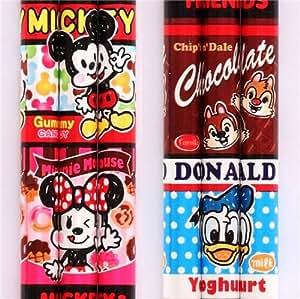 Crayon à papier avec les personnages Disney, Mickey, Minnie, Donald