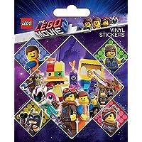 Lego Movie The Vinyl Sticker Sheet with 5 Stickers