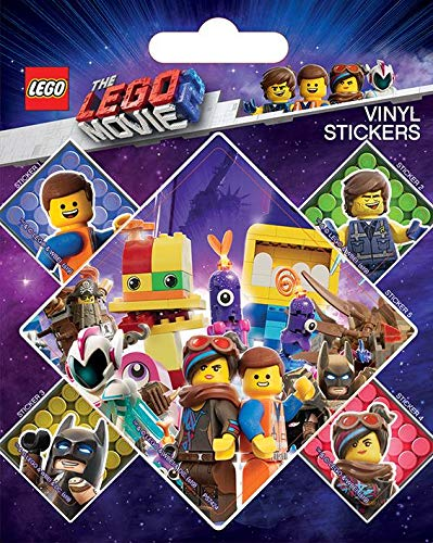 The Lego Movie 2 Sticker-Bogen 5 Aufkleber