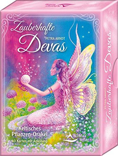 Preisvergleich Produktbild Zauberhafte Devas: Keltisches Pflanzen-Orakel - 40 Karten mit Anleitung