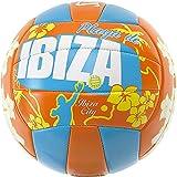Spalding Ball Beachvolley Ibiza 72-321Z - Balón de voleibol para exterior, color blanco, talla 5