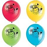 Unique Industries Curious George Latex Helium Balloons [8 per Pack]