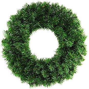 Premier 50cm Plain Green Christmas Wreath by Premier
