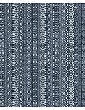 Dekostoff Möbelstoff Vorhangstoff Meterware für Stühle, Vorhänge, Kissen, etc. - Manon Blickdicht Abstrakt Blau - Muster