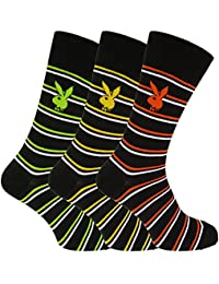 Playboy - Chaussettes rayées (3 paires) - Homme