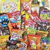 Popin Cookin Dagashi Box Japanische Snacks 70pcs Umaibo Candy Gumi Kartoffel Chip Kitty Schokolade mit AKIBA KING Aufkleber