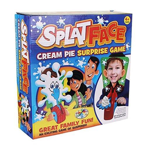 Spalter-Face-ein-spannendes-Spiel-von-Spannung-Wer-wird-eine-berraschung-erste-Splat-Gesicht-bekommen