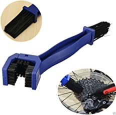 Aeoss Motorcycle/Cycle Chain Cleaner Brush, Bicycle Chain Clean Brush Cycling Motorcycle Gear Grunge Brush Cleaner Outdoor (BLUE)