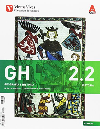 GH 2 (2122) CANARIAS (HISTORIA) AULA 3D: GH 2 Canarias Historia Libro 1 Y 2 Aula 3D: 000002