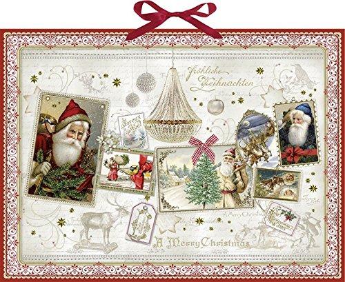 Weihnachtszauber-Collage (Adventskalender);Adventskalender