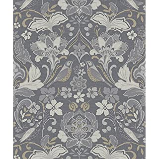 Arthouse 676003 Wallpaper/Wallcoverings, Grey, One Size