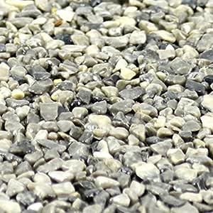Terralith Marmor-Steinteppich 2-4 mm Arabescato f/ür 1qm incl Bindemittel