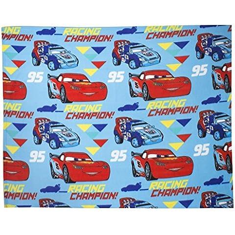 Disney Pixar Cars - Ice Racers - Coperta in Pile per Bambini (120cm x 150cm) (Blu)